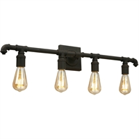 Picture for category Eglo Lighting 202843A Bath Lighting Matte Bronze Steel Wymer