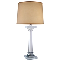 "Picture for category Table Lamps 1 Light Fixtures With Chrome Tones In Finished E26 Bulb Type 32"" 40 Watts"