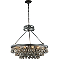 "Picture for category Pendants 10 Light Fixtures With Bronze Tones In Finished E12 Bulb Type 30"" 400 Watts"
