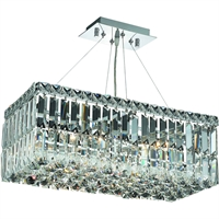 Picture for category World of Classic WE176861 Mini Chandeliers Chrome  Menkent