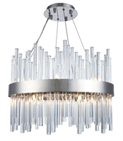 Picture for category World of Classic WE194953 Chandeliers Chrome Metal and Crystal Propus