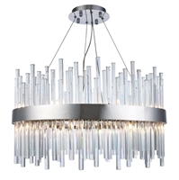 Picture for category World of Classic WE194954 Chandeliers Chrome Metal and Crystal Propus