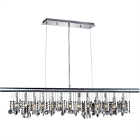"Picture for category Mini Chandeliers 13 Light Fixtures With Chrome Tones In Finished E12 Bulb Type 12"" 780 Watts"