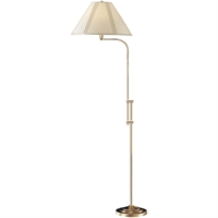 Picture for category Cal Lighting BO-216-AB Floor Lamps Antique Brass Metal Signature