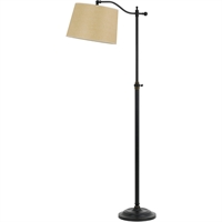 Picture for category Cal Lighting BO-2205FL-DB Floor Lamps Dark Bronze Metal Wilmington