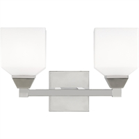 Picture for category Livex Lighting 10282-05 Bath Lighting 15in Polished Chrome Steel 2-light