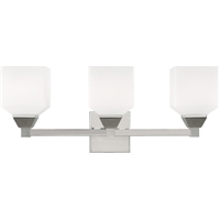Picture for category Livex Lighting 10283-05 Bath Lighting 23in Polished Chrome Steel 3-light