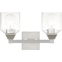 Picture for category Livex Lighting 10382-05 Bath Lighting 15in Polished Chrome Steel 2-light
