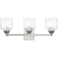 Picture for category Livex Lighting 10383-05 Bath Lighting 23in Polished Chrome Steel 3-light