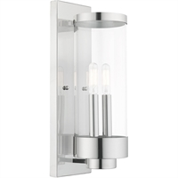 Picture for category Livex Lighting 20722-05 Wall Sconces 5in Polished Chrome Stainless Steel