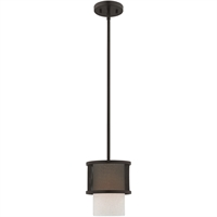 Picture for category Livex Lighting 41201-07 Mini Pendants Bronze Steel 1-light
