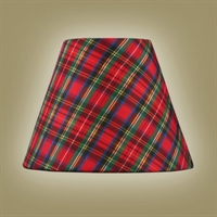 "Picture for category Plaid Red Tone Finish Lighting Glass Shades Menkar Collection 4"" Long Light Fixture"