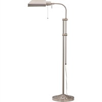 Picture for category Cal Lighting BO-117FL-BS Floor Lamps Brushed Steel Metal Pharmacy