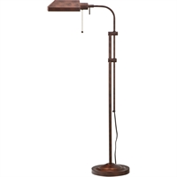 Picture for category Cal Lighting BO-117FL-RU Floor Lamps Rust Metal Pharmacy