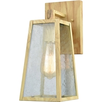 Picture for category Elk Lighting 45098/1 Wall Sconces Birtchwood Metal/Glass Meditterano