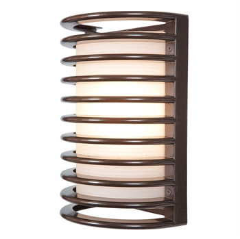 Picture of Access Lighting 20010LEDDMG-BRZ/RFR Wall Sconces Bronze Aluminum Bermuda