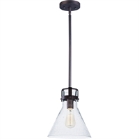 Picture for category Maxim Lighting 26115CDOI Pendants Oil Rubbed Bronze Steel and Glass Seafarer