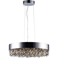 Picture for category Maxim Lighting 39655MSKPC Pendants Polished Chrome Stainless steel and Crystal Mystic