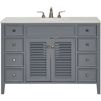 Picture for category World of Classic WE325276 Decor Grey and Brushed Steel Rubberwood/Solid Wood/MDF/Marble/Porcelain Meissa