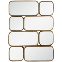 Picture for category Uttermost 09437 Mirrors Antiqued Gold Mirror/MDF/Iron Canute