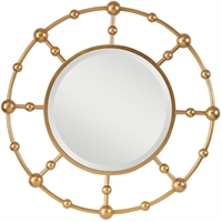 Picture for category Uttermost 09457 Mirrors Metallic Gold Leaf Metal/Mirror/MDF Selim