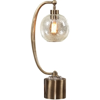 Picture for category Uttermost 29630-1 Table Lamps Antique Brass and Crystal Metal/Glass/Crystal Gacinia