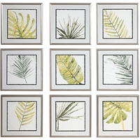Picture for category Uttermost 33682 Decor Champagne Siler Frames Plastic/Glass/KT Board Verdant Impressions
