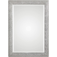 Picture for category World of Decor RL-221585 Mirrors Metallic Siler with Light Gray Wash MDF/Glass/Paper Kraz