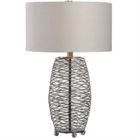 Picture for category World of Decor RL-260020 Table Lamps Way Steel Mesh Steel Bellatrix