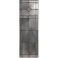 Picture for category World of Decor RL-337126 Mirrors Burnished Rust Bronze MDF/Glass Alhena