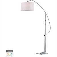 Picture for category Dimond Lighting D2471-HUE-D Floor Lamps Polished Nickel Metal Assissi