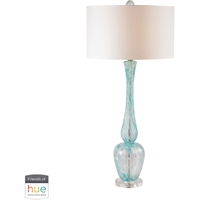 Picture for category Dimond Lighting D2662-HUE-D Table Lamps Light Blue Swirl Glass Swirl Glass