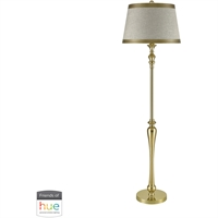 Picture for category Dimond Lighting D3221-HUE-B Floor Lamps Gold Fabric/Metal Figueroa