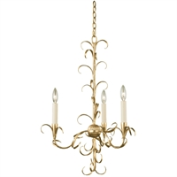Picture for category Kalco Lighting 505470OL Chandeliers Oxidized Gold Leaf Steel Ainsley