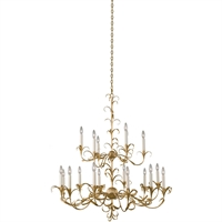 Picture for category Kalco Lighting 505472OL Chandeliers Oxidized Gold Leaf Steel Ainsley