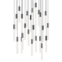 Picture for category World of Home WHM337047 Pendants Polished Chrome  Ash and Aspen