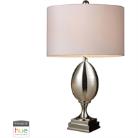 "Picture for category Table Lamps 1 Light Fixtures With Chrome Finish Glass/Metal Material E26 28"" 60 Watts"