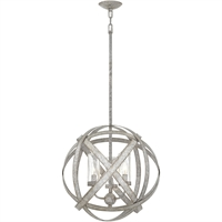 Picture for category Hinkley Lighting 29703WZ-LL Outdoor Pendant Weathered Zinc Metal Carson