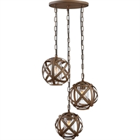 Picture for category Hinkley Lighting 29704VI Outdoor Pendant Vintage Iron Metal Carson
