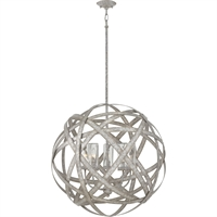 Picture for category Hinkley Lighting 29705WZ-LL Outdoor Pendant Weathered Zinc Metal Carson