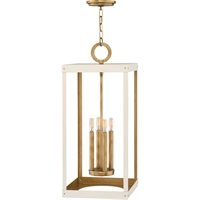 Picture for category RLA Hinkley RL-341831 Pendants Heritage Brass with Warm White Steel Porter