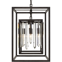 Picture for category World of Lighting WL343182 Chandeliers Forged Bronze Steel Miaplacidus
