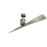 Picture for category Kichler Lighting 300160NI Indoor Ceiling Fans Brushed Nickel Steel Ferron