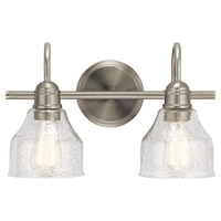 Picture for category Kichler Lighting 45972NI Bath Lighting Brushed Nickel Steel Aery