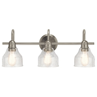 Picture for category Kichler Lighting 45973NI Bath Lighting Brushed Nickel Steel Aery