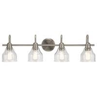 Picture for category Kichler Lighting 45974NI Bath Lighting Brushed Nickel Steel Aery
