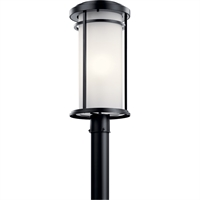 "Picture for category Outdoor Post Light 1 Light Fixtures With Black Finish Aluminum Material Medium Bulb 10"" 150 Watts"