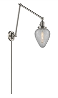 Picture for category World of Lifestyle WLS354467 Wall Sconces Brushed Satin Nickel  Aldebaran