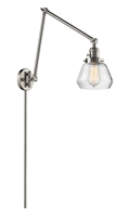 Picture for category World of Lifestyle WLS354470 Wall Sconces Brushed Satin Nickel  Ain