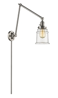 Picture for category World of Lifestyle WLS354474 Wall Sconces Brushed Satin Nickel  Mira